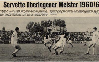 Le centenaire du Servette FC