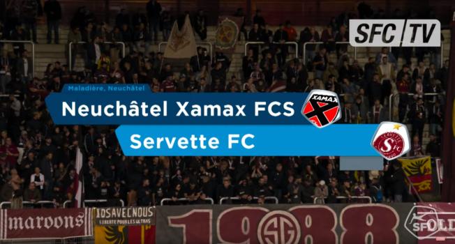 Xamax-Servette: le résumé