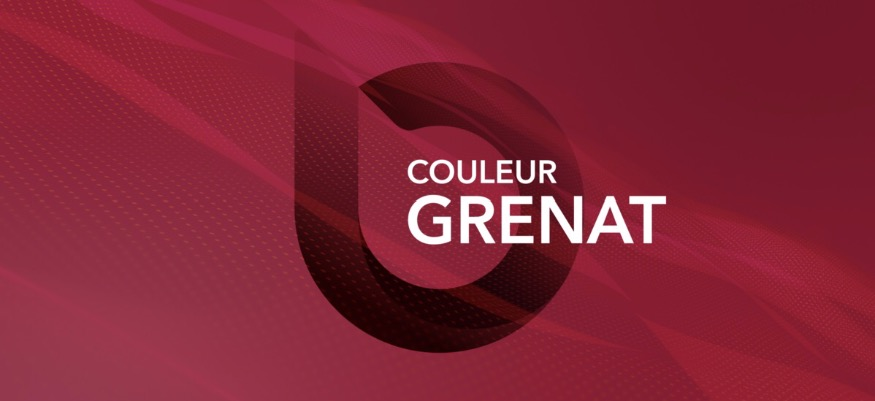 Couleur Grenat 4 (Léman Bleu)