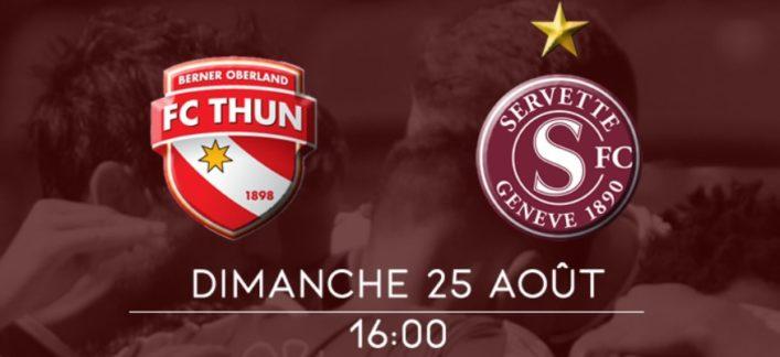 Thoune-Servette: Match à six points