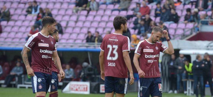 Servette – Saint-Gall 1-2 (0-1): Encore une défaite… mais celle-ci est imméritée.