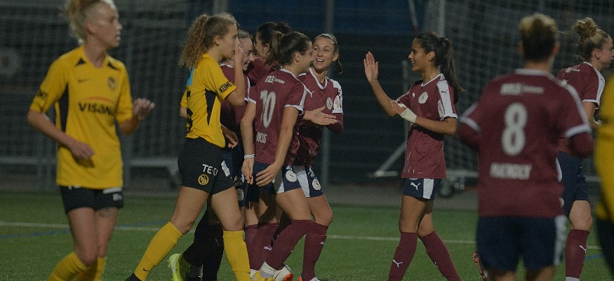 Servette FCCF – YB Frauen 2-0 (1-0) : Plus rien n'arrête les Servettiennes !