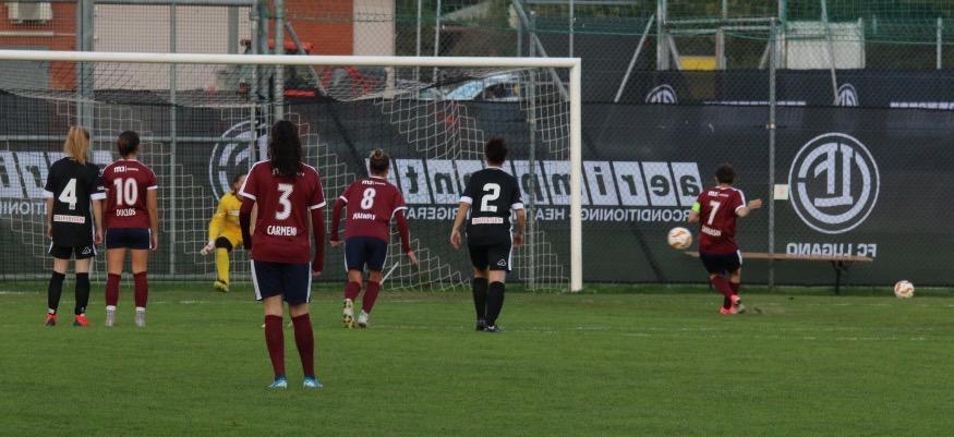 FF Lugano – Servette FC Chênois Féminin 0-11 (0-8) : une qualification acquise en… 9 minutes