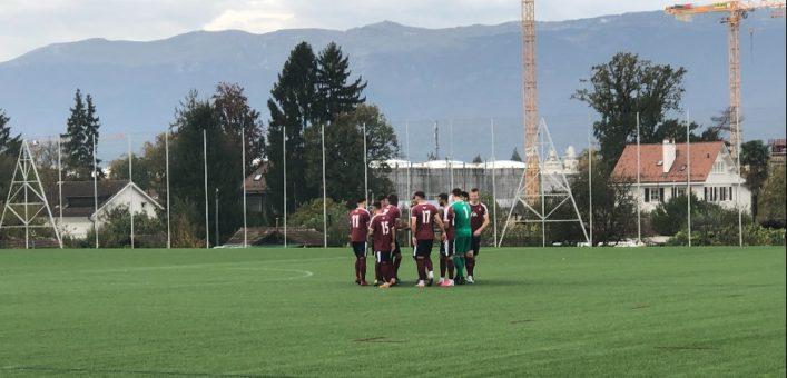 Servette FC M-21 – Signal Bernex 3-0 (1-0) : à 90 minutes de réaliser une première phase parfaite !