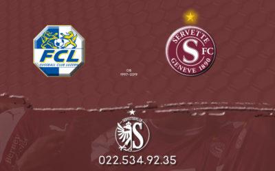 Lucerne-Servette: Le live score!