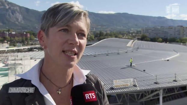 Le Stade de Genève s'adapte, s'améliore et travail sur son image (RTS Sport)
