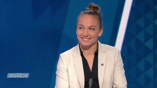 Interview de Gaëlle Thalmann dans Sport Dimanche (RTS Sport)