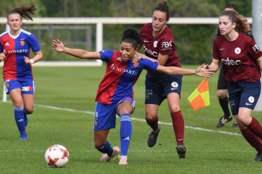 FC Basel 1893- Servette FC Chênois Féminin :  Passer l'hiver sur le trône