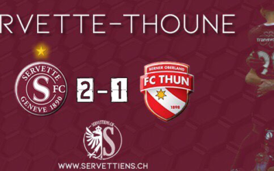 Servette-Thoune : l'analyse