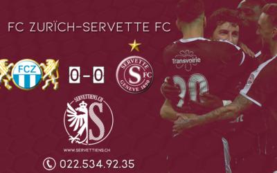 Zürich-Servette: Le live score