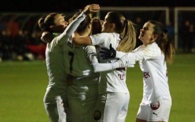FC Basel Frauen – Servette FCCF 2-4 (1-1) : Championnes d'automne !