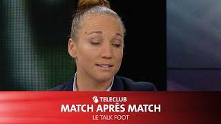 Gaëlle Thalmann dans Match après Match (Teleclub Sports)
