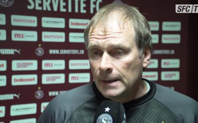 Interviews avant Servette – Thoune (SFC TV)