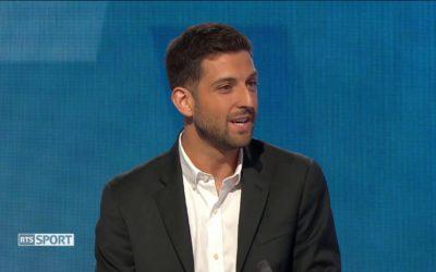 Super League : Didier Fischer au micro de la RTS (RTS Sport)