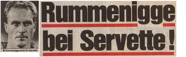 Un Ballon d'Or au Servette ! Karl-Heinz Rummenigge est grenat.