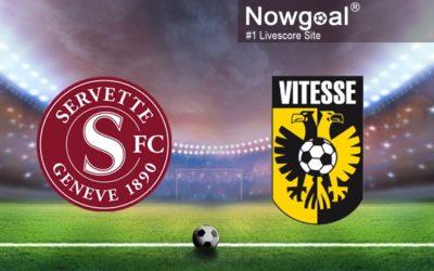 Servette – Vitesse Arnhem : le livescore