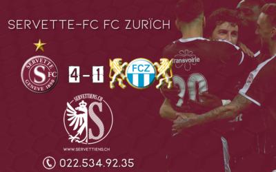 Servette FC – FC Zürich : l'analyse