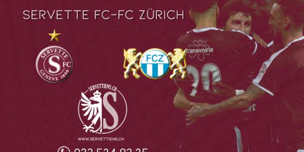 Servette – Zurich : le livescore