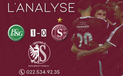 Saint-Gall – Servette : l'analyse