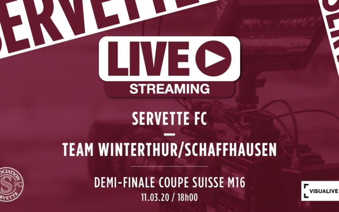 Servette FC M-16 – Team Winterthur/Schaffhausen M-16 : le livescore