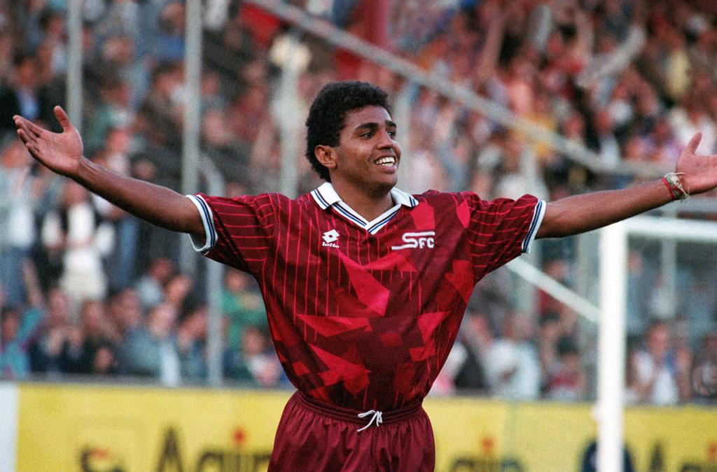 Sonny Anderson, de Servette au FC Barcelone.