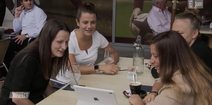 La réaction des joueuses du Servette FCCF sur leur saison (RTS Sport)
