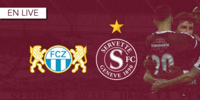 FC Zurich – Servette : Le livescore