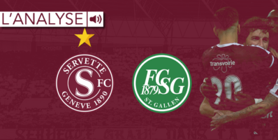 Servette – Saint-Gall : L'analyse
