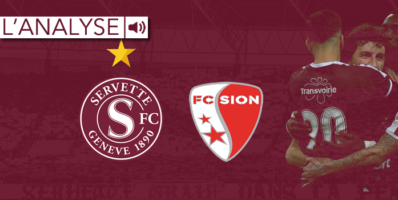 Servette – Sion : L'analyse du match