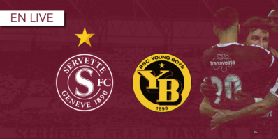 Servette – Young Boys : Le livescore
