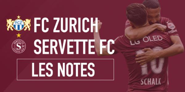 Zurich – Servette 1-2 (0-0) : Comme à la maison